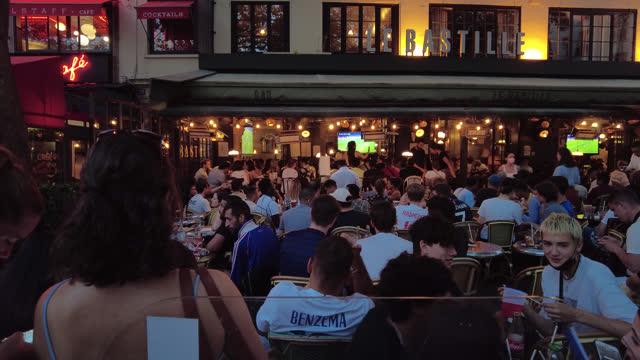 FRA: Fans In Paris Watch UEFA Euro 2020
