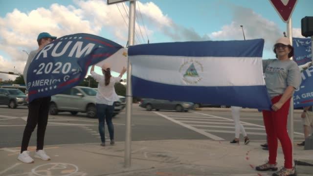 FL: Trump Supporters In Miami