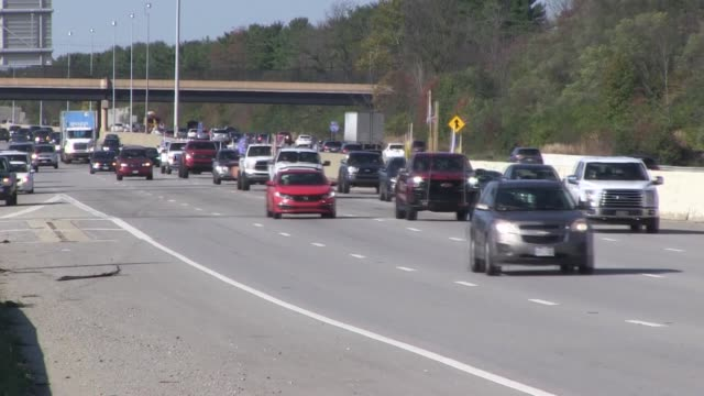supporters of us president donald trump gathered on saturday in ohio for convoy-rally to show their support for the 2020 presidential election next... - georgia us state stock videos & royalty-free footage