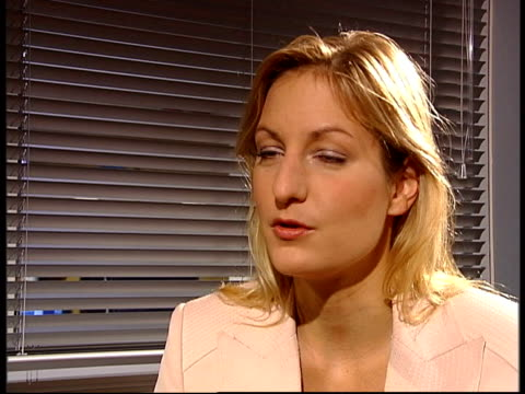supreme court blocks presidential election result itn london gir katinka barysch interview sot currently in a process of mutual disillusionment /... - 実業家 ボリス・ベレゾフスキー点の映像素材/bロール