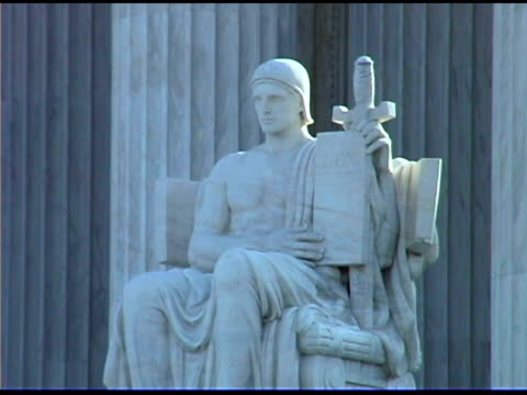us supreme court building in washington dc - male likeness stock videos & royalty-free footage