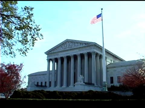 us supreme court building in washington dc - us supreme court building stock videos and b-roll footage