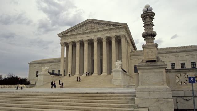 supreme court building time lapse - supreme court stock videos & royalty-free footage