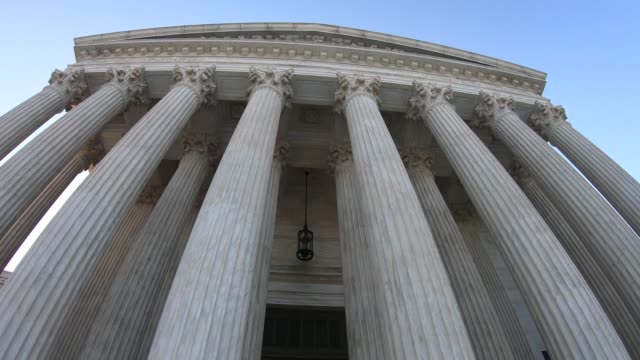 us supreme court building - us supreme court building stock videos & royalty-free footage