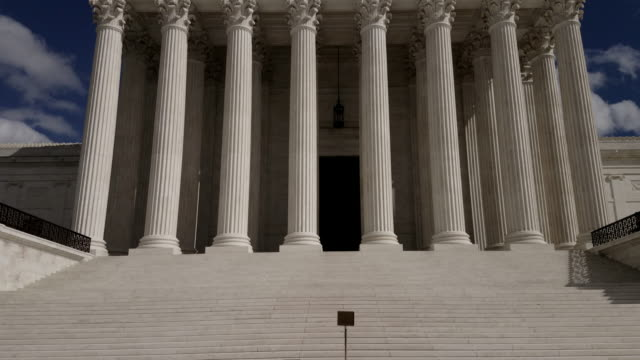 supreme court of the united states in washington, dc - 4k/uhd - equal arm balance stock videos and b-roll footage