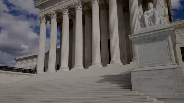 supreme court of the united states in washington, dc - 4k/uhd - supreme court stock videos & royalty-free footage