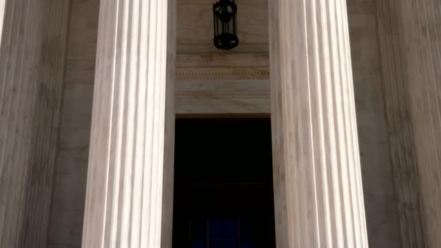 supreme court of the united states in washington, dc - legal system stock videos & royalty-free footage