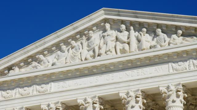 u.s. supreme court pan - supreme court stock videos & royalty-free footage