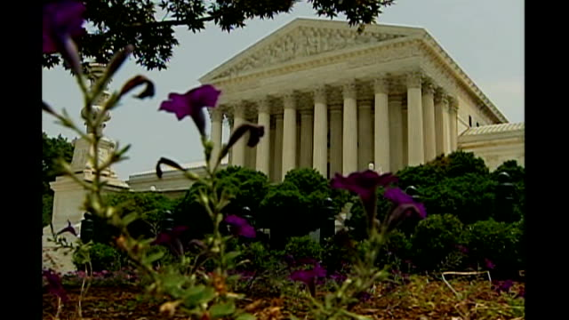 supreme court ruling on racial segregation in schools washington ext supreme court building - racial segregation stock videos & royalty-free footage