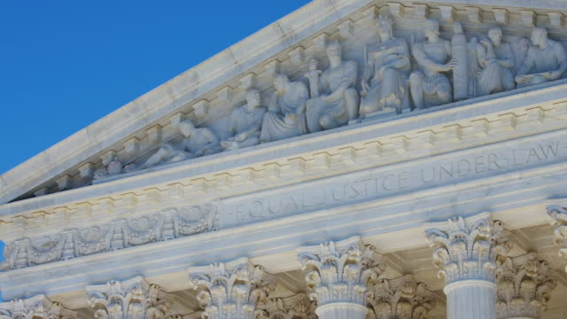 u.s. supreme court time lapse - supreme court stock videos & royalty-free footage