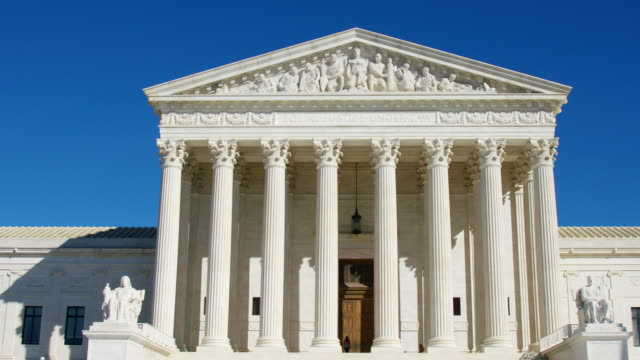 usa.  supreme court - oberstes bundesgericht der usa stock-videos und b-roll-filmmaterial