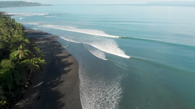 surf - costa rica video stock e b–roll