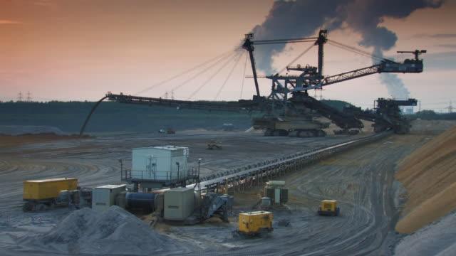 表面鉱山 - 炭鉱点の映像素材/bロール