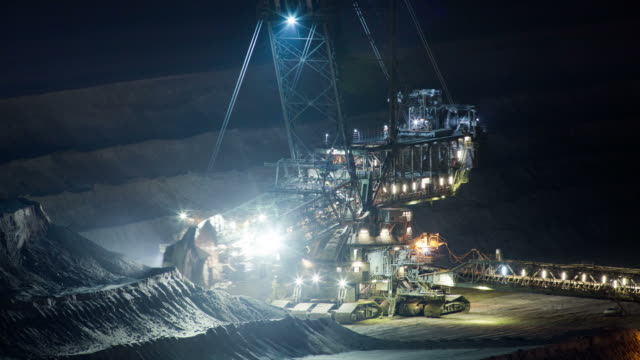 time  lapse: surface mining - surface mine stock videos and b-roll footage