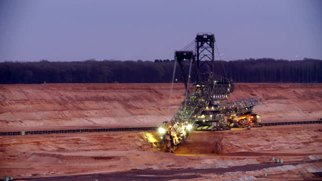 surface mining - surface mine stock videos and b-roll footage