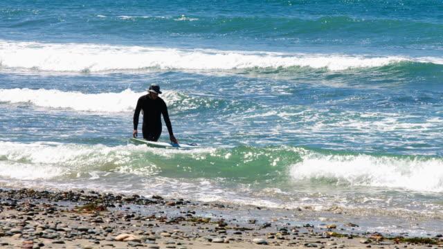 Surfer at End of Wave