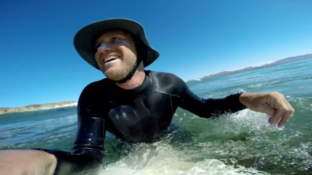 Surfer in Baja