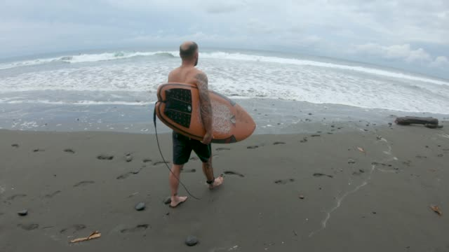 surfer - mature men stock videos & royalty-free footage