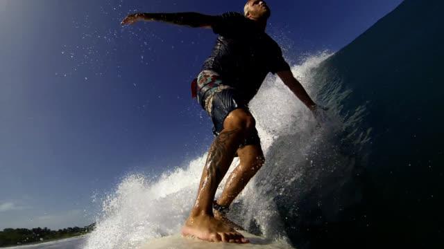 vídeos y material grabado en eventos de stock de surfer - bañador de natación