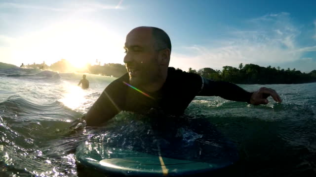 surfer - water sport stock videos & royalty-free footage
