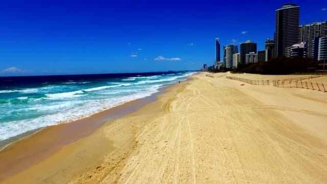 Surfers Paradise Lateral Beach View