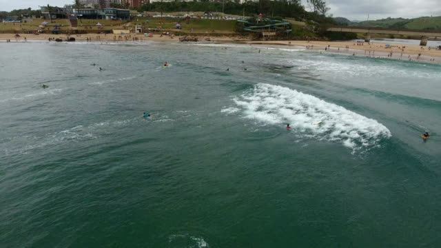surfers/ scottburgh/ south africa - large group of people stock videos & royalty-free footage