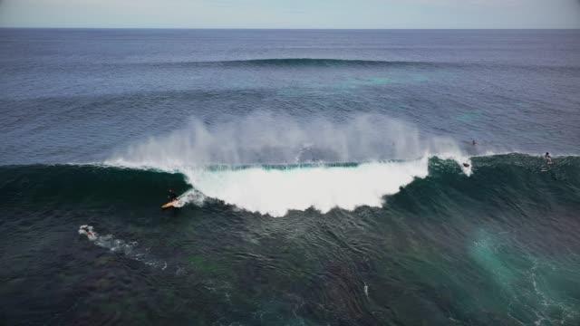surfing at margaret river - western australia bildbanksvideor och videomaterial från bakom kulisserna