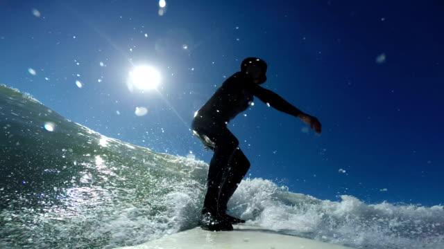 surfing in baja - baja california peninsula stock videos & royalty-free footage