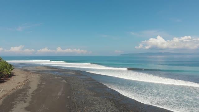 vídeos y material grabado en eventos de stock de surf en costa rica - pipeline wave
