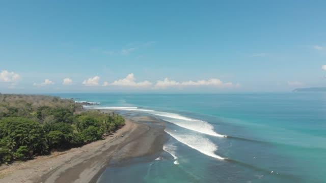 vídeos y material grabado en eventos de stock de surf en costa rica - costa rica