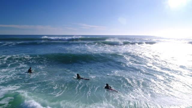 Surfen im Meer