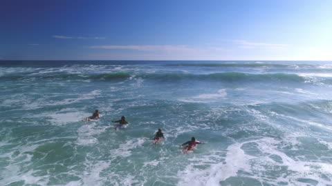 stockvideo's en b-roll-footage met surfen in de oceaan - surf