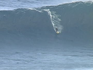 surfing jaws maui - large stock videos & royalty-free footage