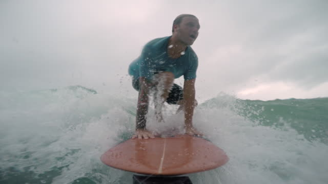 surfing - standing stock videos & royalty-free footage