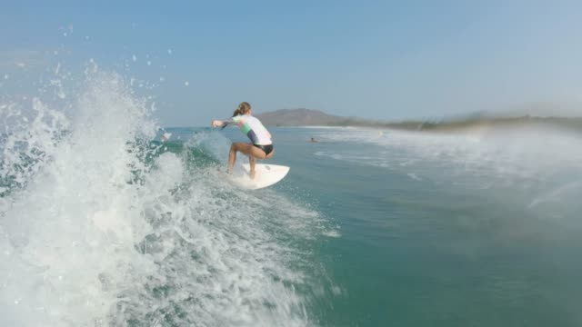 surfing - surf stock videos & royalty-free footage