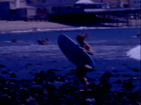 surfing - california stock videos & royalty-free footage