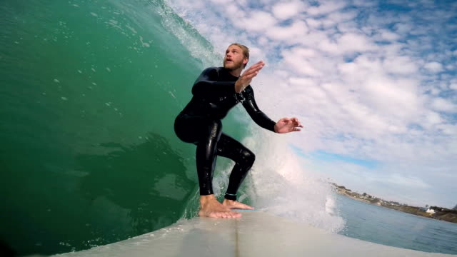 surfing - san diego stock videos & royalty-free footage