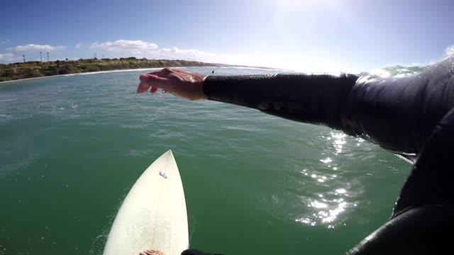 pov surfing - digital camcorder stock videos & royalty-free footage