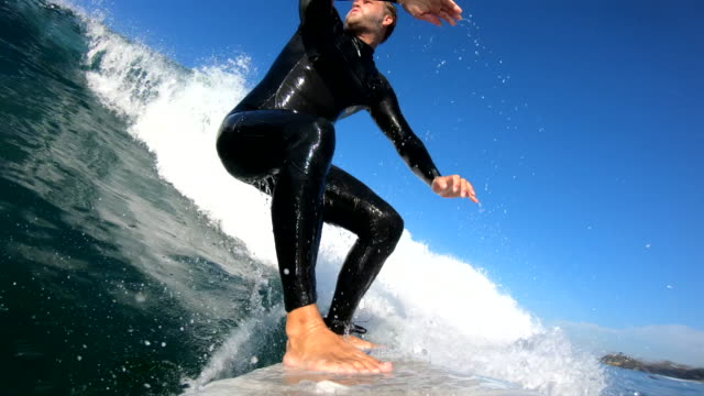 surfing - extreme sports stock videos & royalty-free footage
