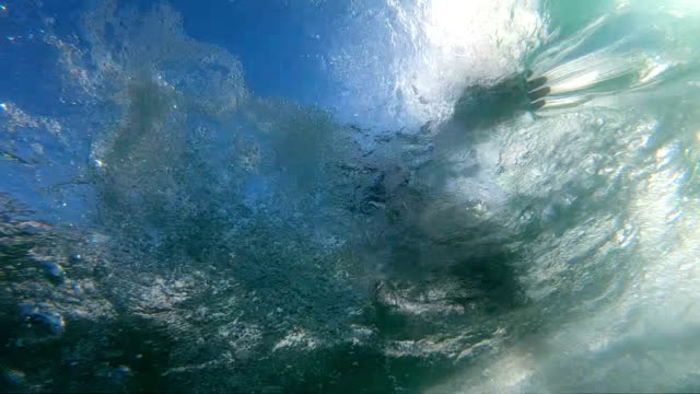 surfing - underwater stock videos & royalty-free footage