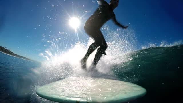 surfing - water sport stock videos & royalty-free footage