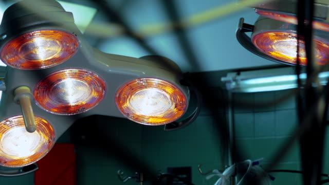 OP-Lampe in Operationssaal