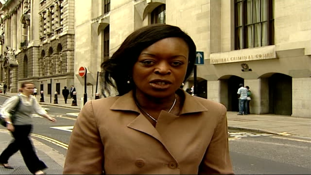 motherinlaw found guilty london old bailey reporter to camera - mother in law stock videos & royalty-free footage