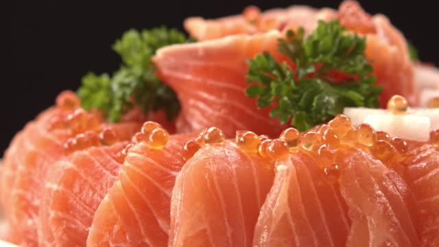 surprise salmon - omega 3 stock videos & royalty-free footage