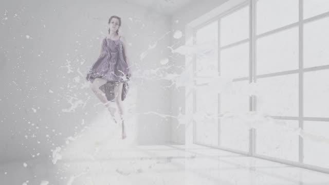 surreal dancing women - surrealism stock videos & royalty-free footage