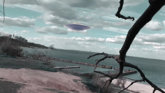 surreal time lapse - ufo stock videos & royalty-free footage