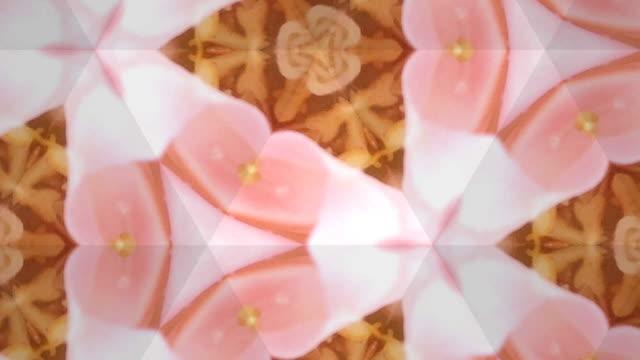 surreality abstract motion graphics - kaleidoscope pattern stock videos & royalty-free footage