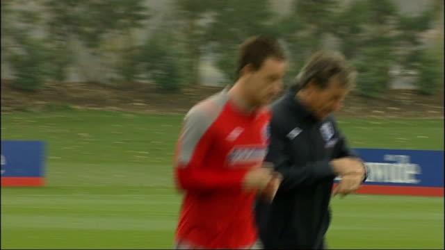 cobham training ground ext terry training - コブハム点の映像素材/bロール
