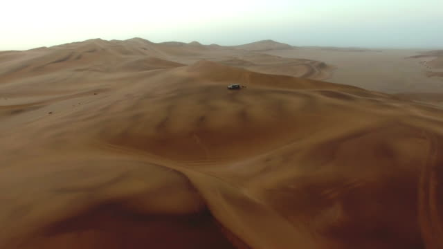 Surrounded by desert sands