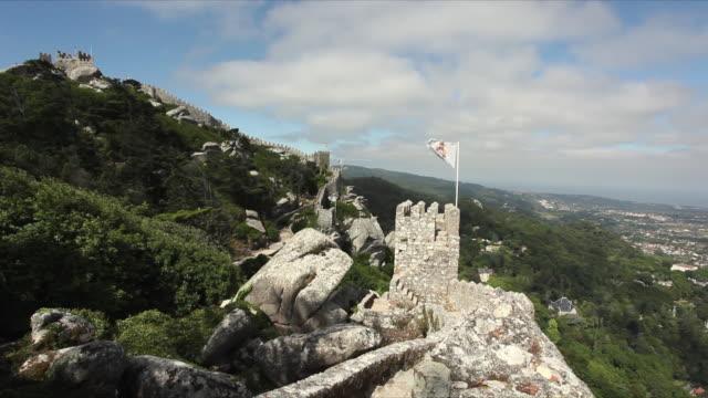 WS Surrounding walls of Castelo dos Mouros / Sintra, Portugal